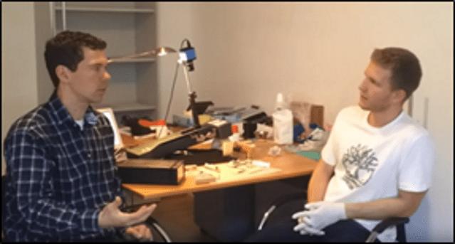 Cornea Testing at the IROC Institute in Zurich, Switzerland